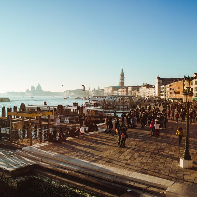 """Venice Winter Impressions"" stock image"