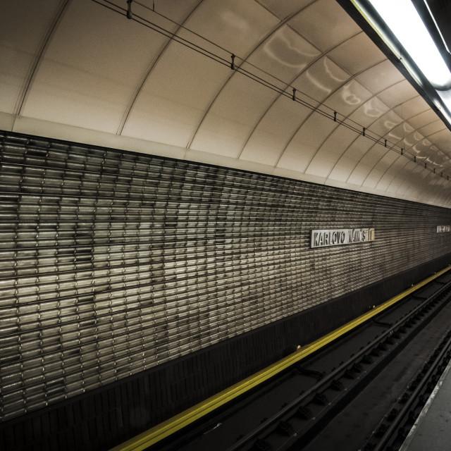 """Going Underground"" stock image"