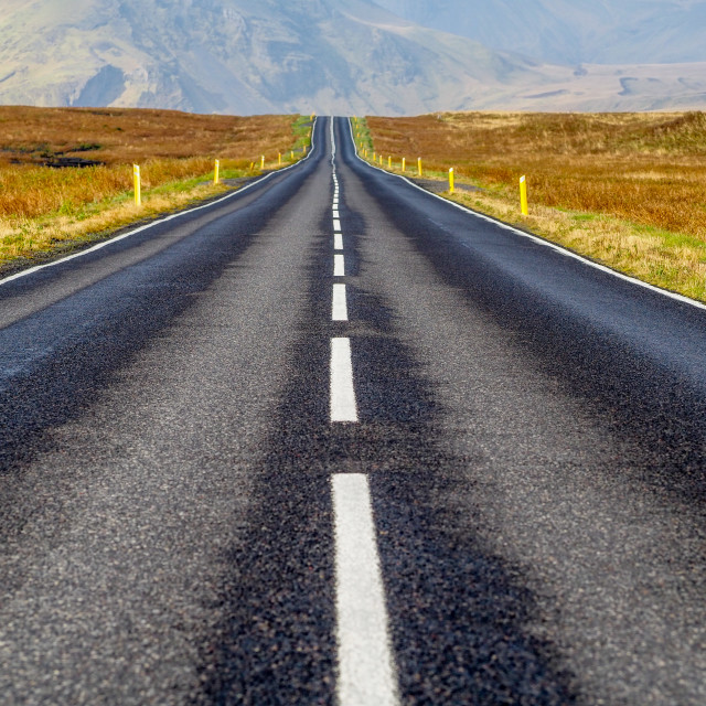 """""""Road to Nowhere."""" stock image"""