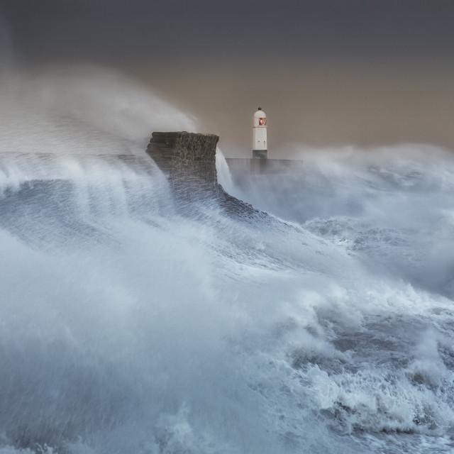 """""""Hurricane Brian"""" stock image"""