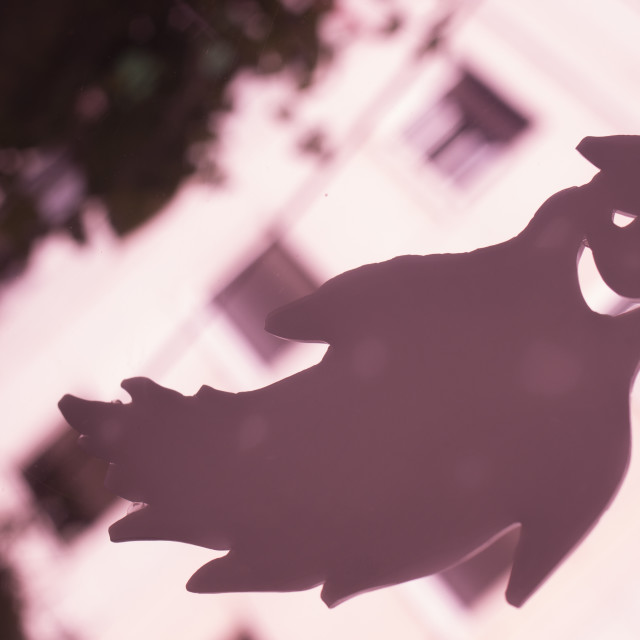 """""""Halloween party toy ghost"""" stock image"""