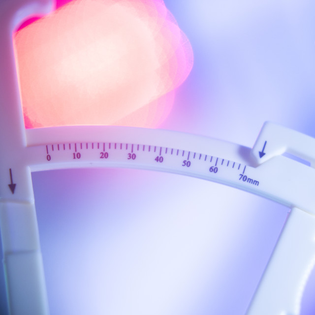 """""""Weight loss diet fst calipers"""" stock image"""
