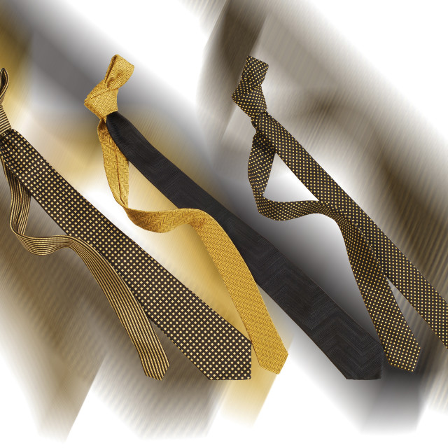 """Ties"" stock image"