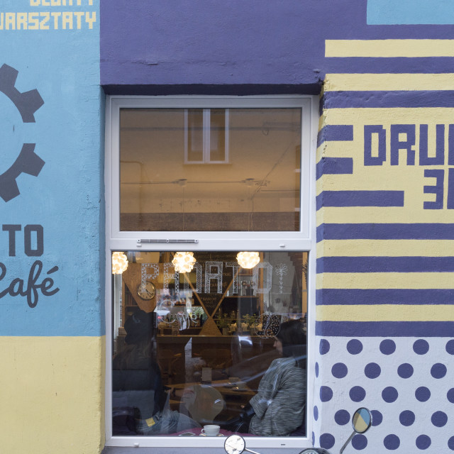 """Start Up Panato Cafe und Design-shop"" stock image"