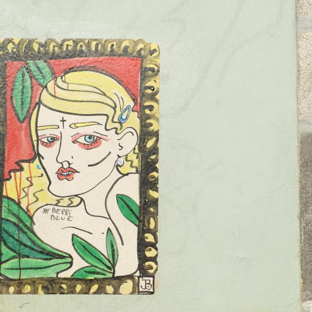 """Porto Street Art"" stock image"
