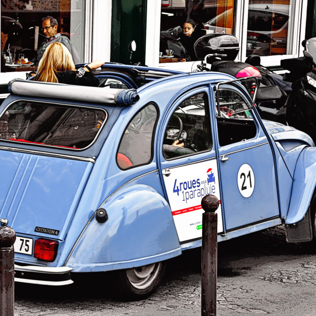 """Citroen 2CV6 Club"" stock image"