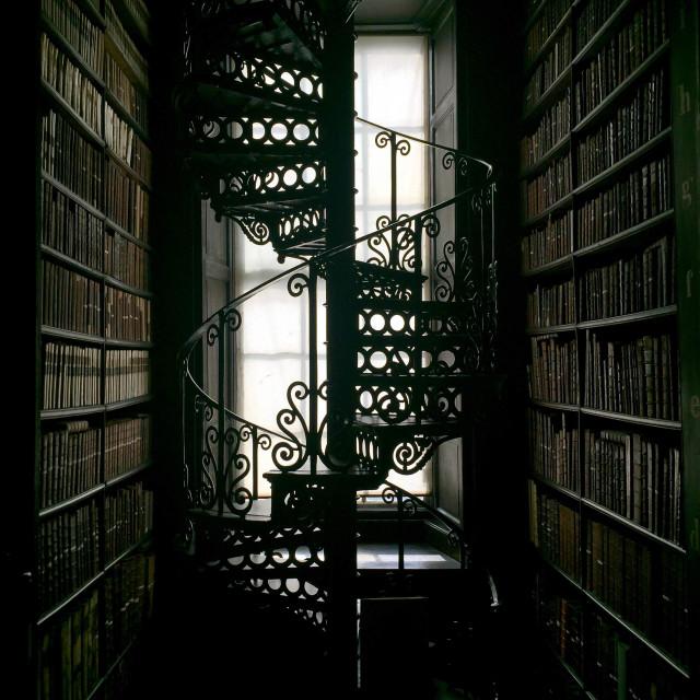 """Dublin Trinity College"" stock image"