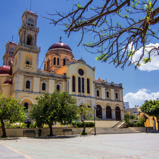 """St Minas Cathedral."" stock image"