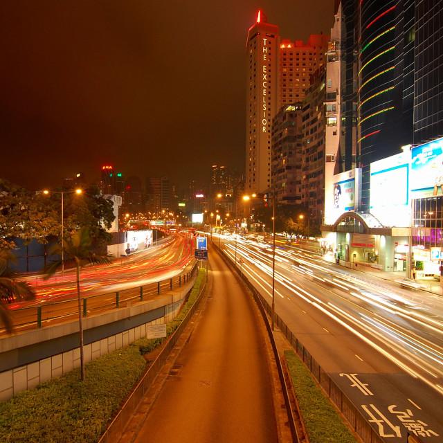 """Causeway Bay, Hong Kong"" stock image"