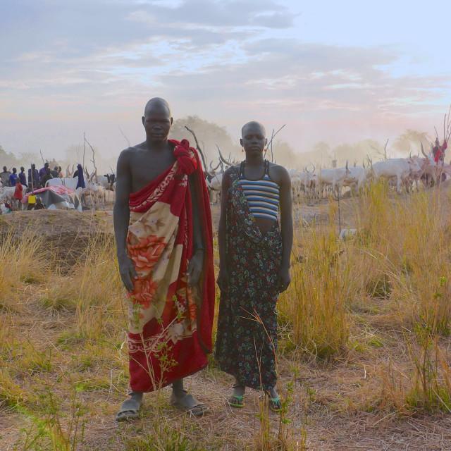 """""""South Sudan - Mingkaman"""" stock image"""