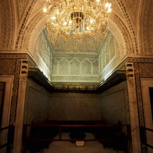 """""""Inside The Bardo Museum, Tunis, Tunisia"""" stock image"""