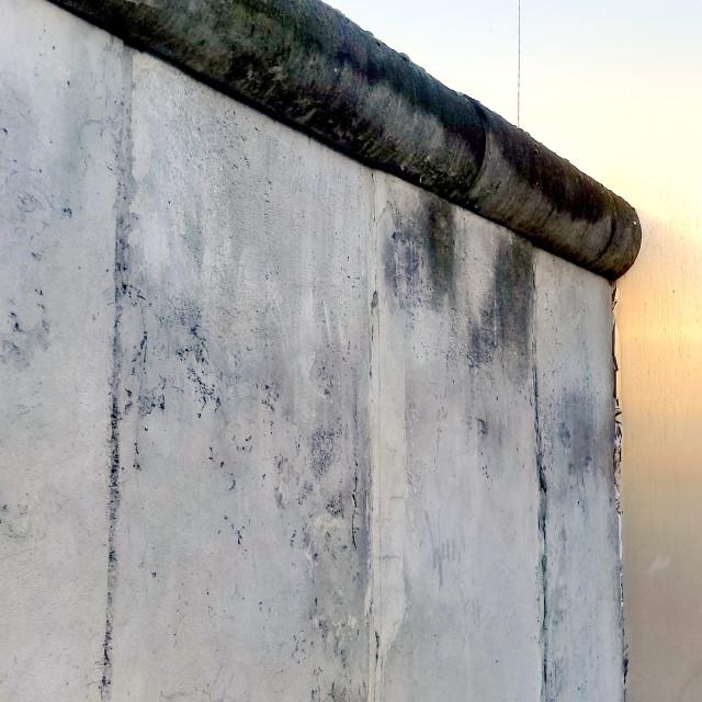 """Berlin wall."" stock image"