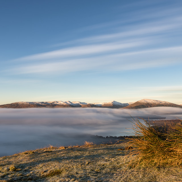 """Conic hill view point"" stock image"