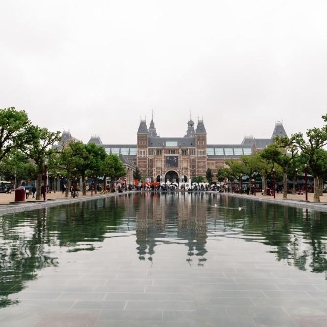 """Rjksmuseum in Amsterdam"" stock image"