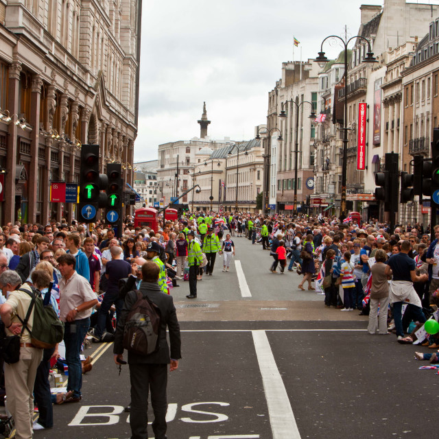 """London2012 Great Team Parade"" stock image"