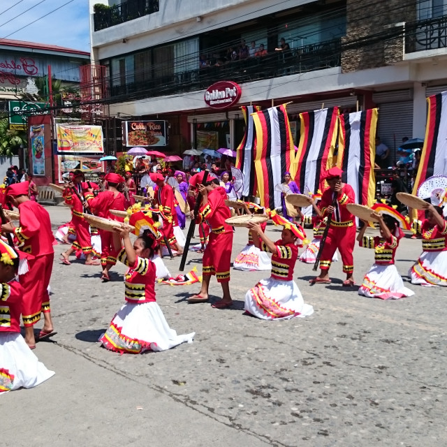 """Street parade Philippines"" stock image"