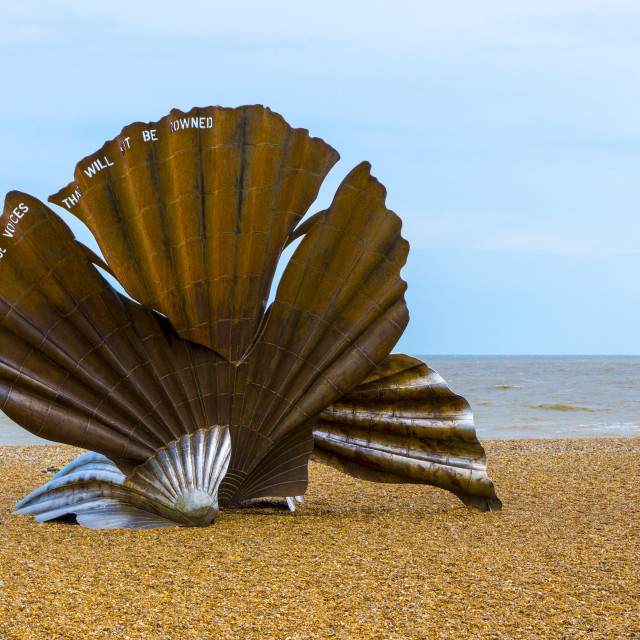 """Britten's Shell."" stock image"