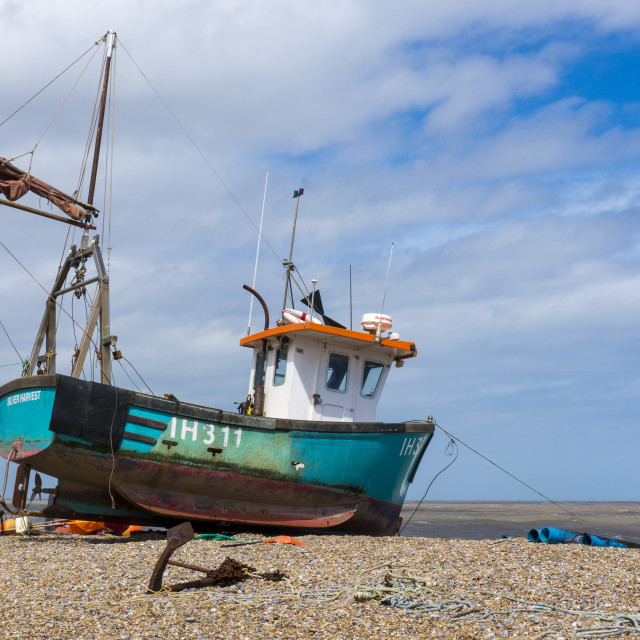 """Fishing Vessel"" stock image"