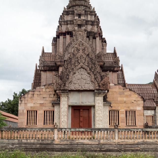 """Thaweesin Chiang Rai, hotel Ruin Khmer style"" stock image"