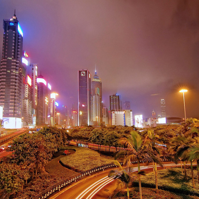 """Wanchai, Hong Kong"" stock image"