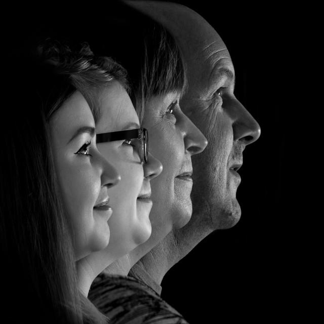 """Family Portrait"" stock image"