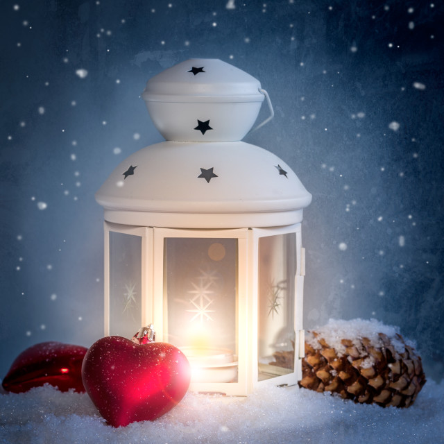 """Silent night"" stock image"
