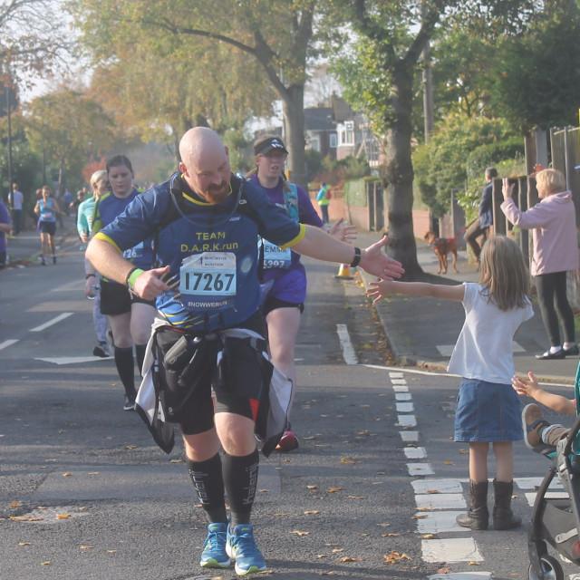"""Manchester Half Marathon"" stock image"