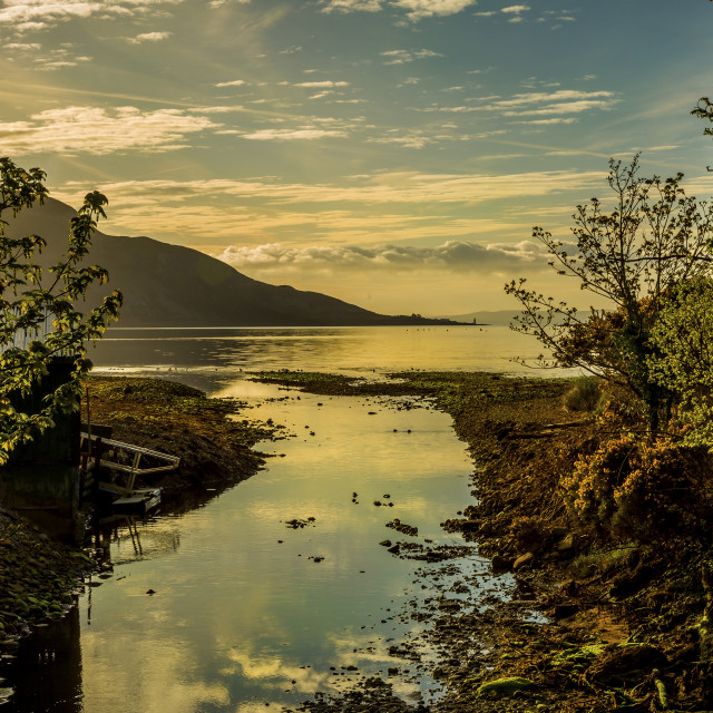 """Isle of Arran- Scotland"" stock image"