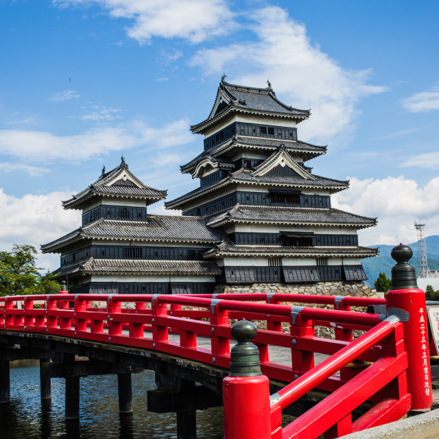 """Matsumoto Castle"" stock image"