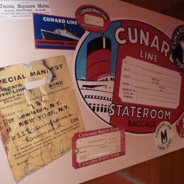 """Cunard White Star Line"" stock image"