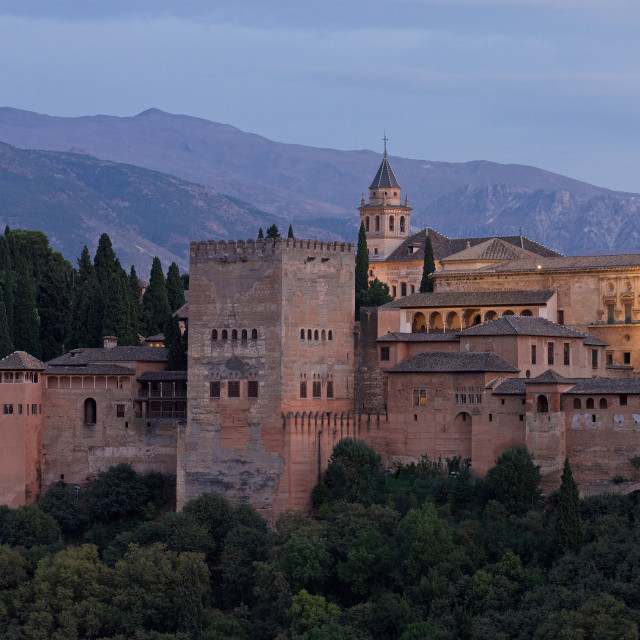 """""""The Alhambra"""" stock image"""