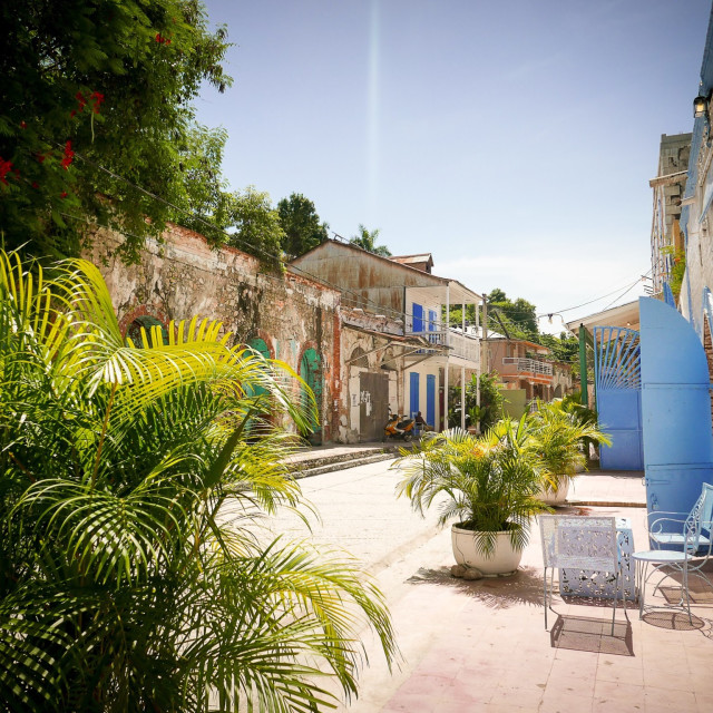 """Haiti, the streets"" stock image"