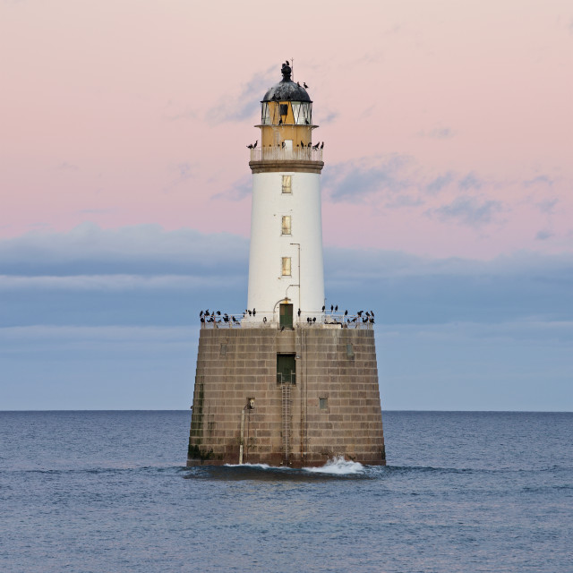 """Rattray Head Lighthousw"" stock image"