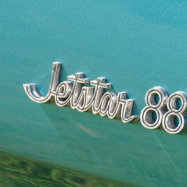 """""""Oldsmobile Jetstar 88"""" stock image"""