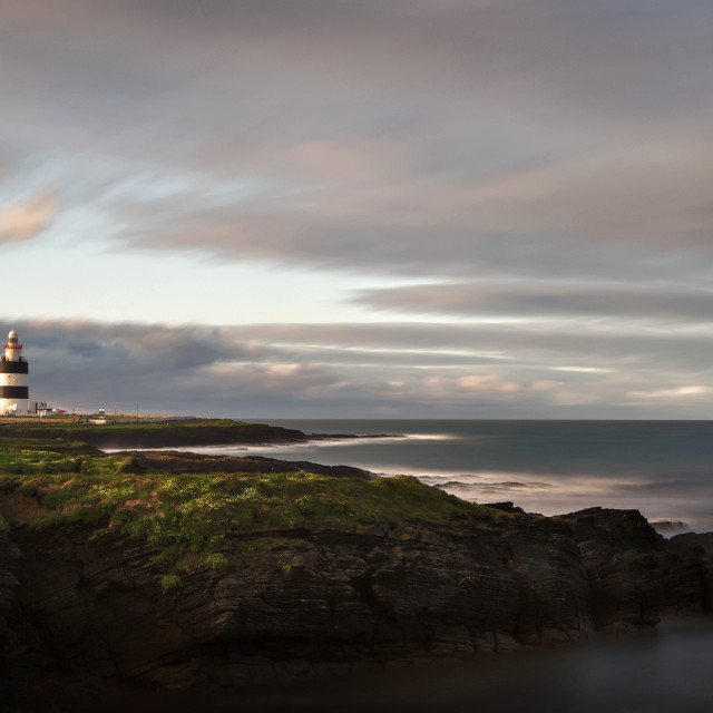 """Hook Head Lighthouse - West Coast of Ireland"" stock image"