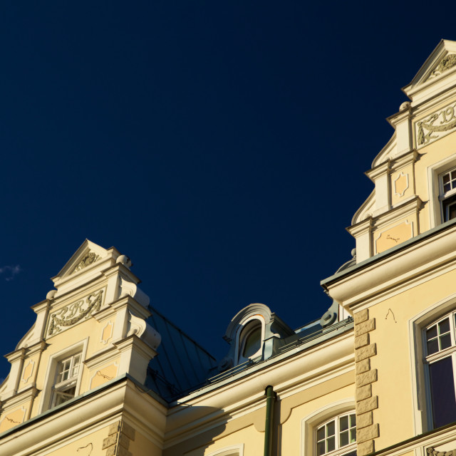 """Riga's Art Deco"" stock image"