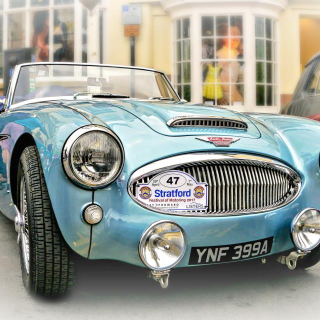 """British Sports Car"" stock image"