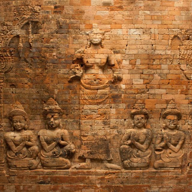 """""""Prasat Kravan In Angkor, Cambodia"""" stock image"""