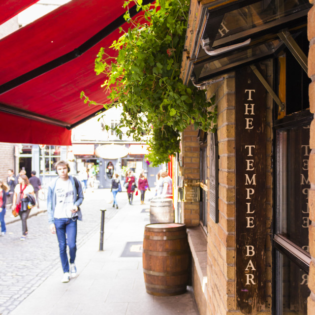 """The Temple Bar"" stock image"