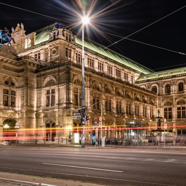 """The Vienna State Opera"" stock image"
