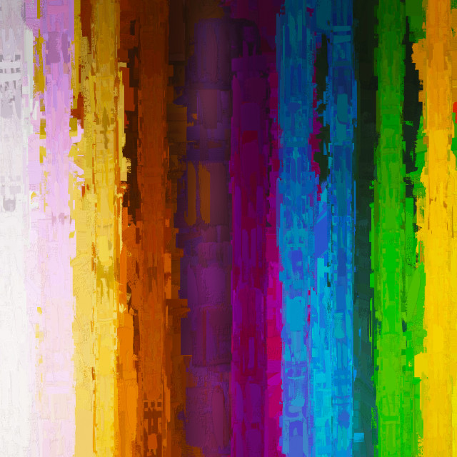 """""""Vertical painting color lines illustration background"""" stock image"""