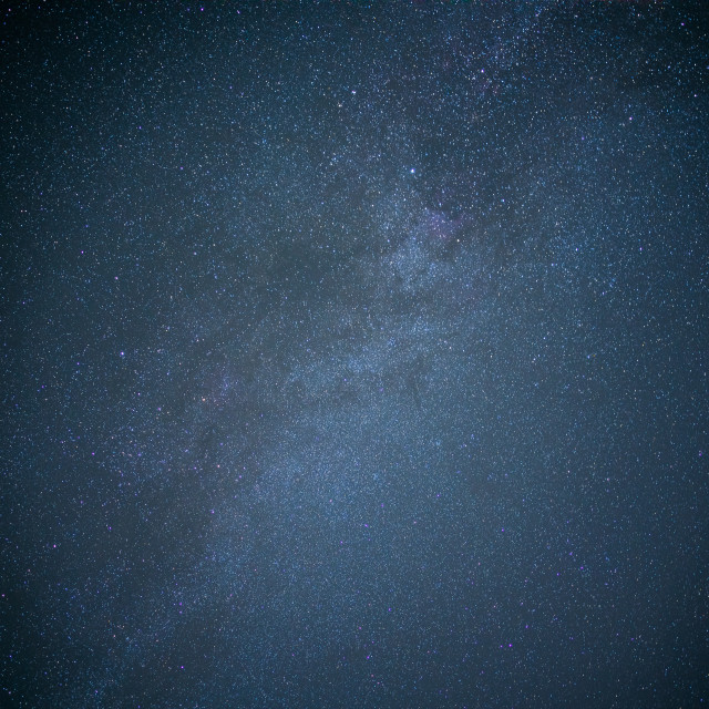 """""""South Downs Milky Way"""" stock image"""