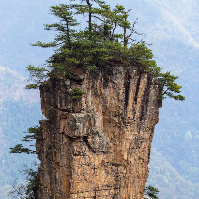 """Avatar Mountain China"" stock image"