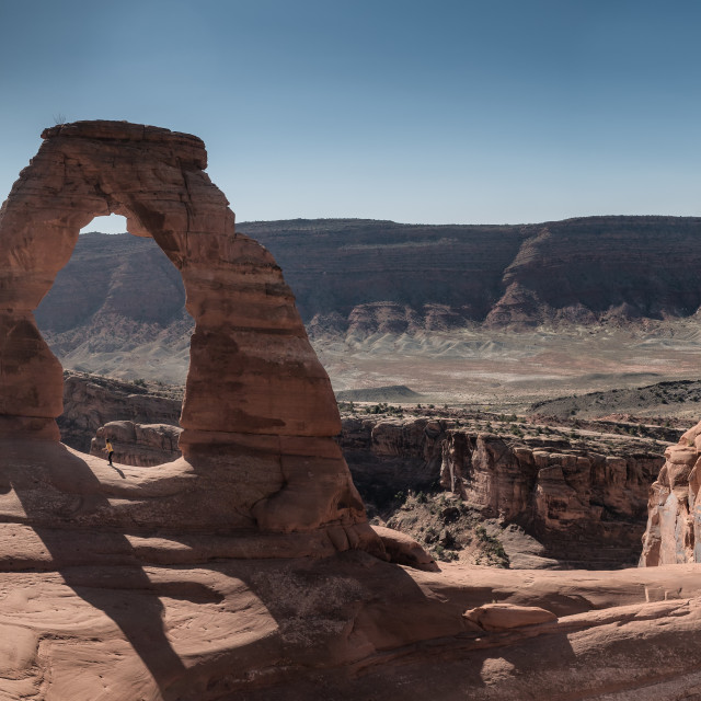 """Delicate Arch in Arches National park Utah,"" stock image"