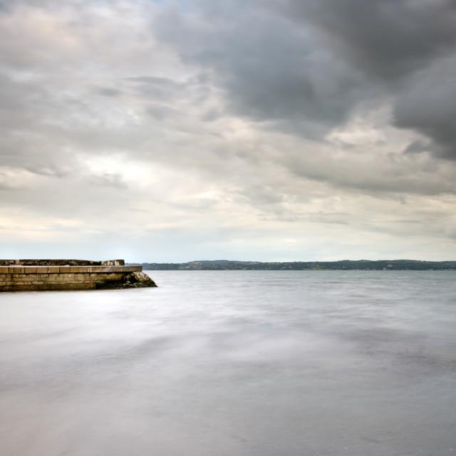 """Fisherman's Quay, Carrickfergus"" stock image"