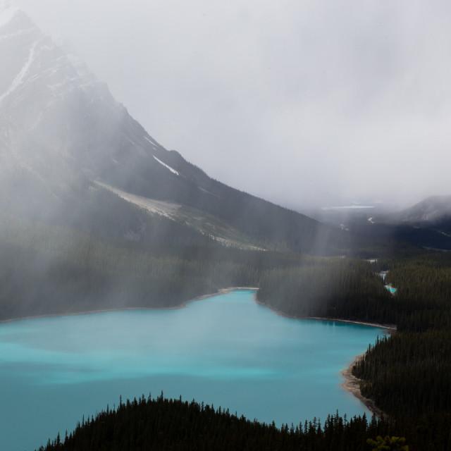 """Beautiful Peyto Lake-II"" stock image"