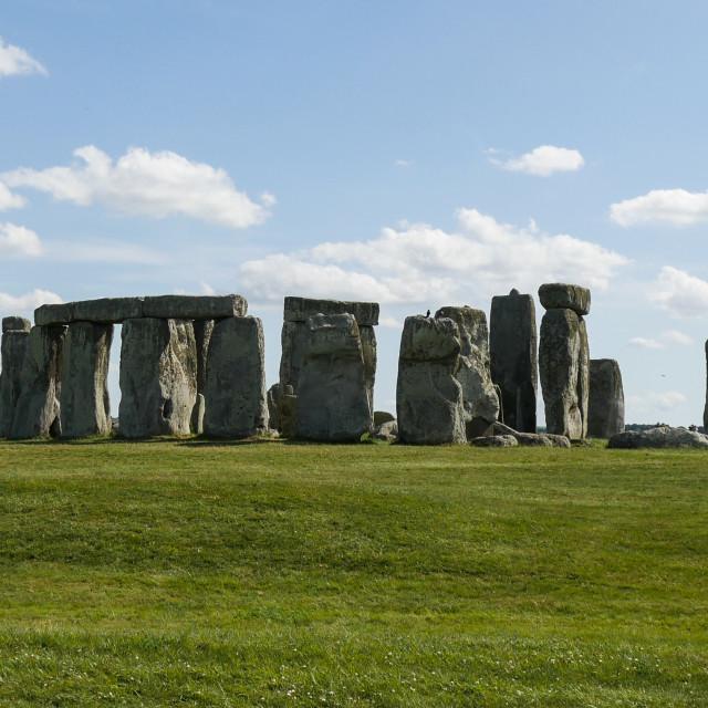 """Ancient Stonehenge"" stock image"