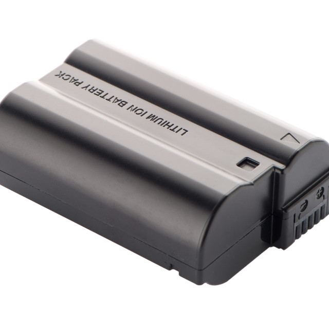 """""""Camera battery pack"""" stock image"""