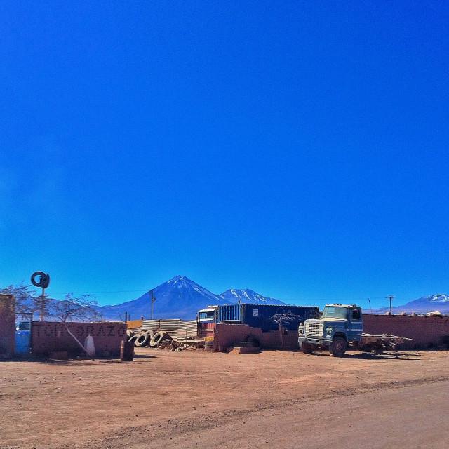 """Still life in San Pedro de Atacama"" stock image"