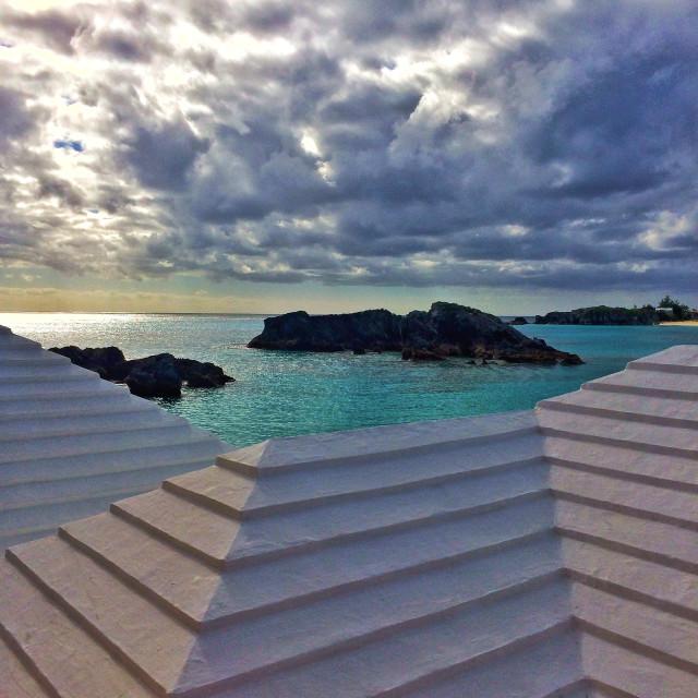 """Bermuda roof"" stock image"